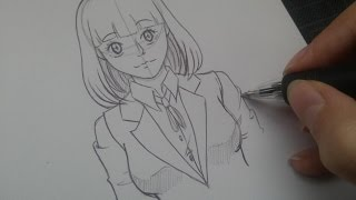 How to draw : Midorikawa Hana from Prison School