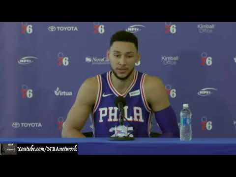 "Sixers' Ben Simmons I 2017 Media Day ""I can Lead this Team!"""