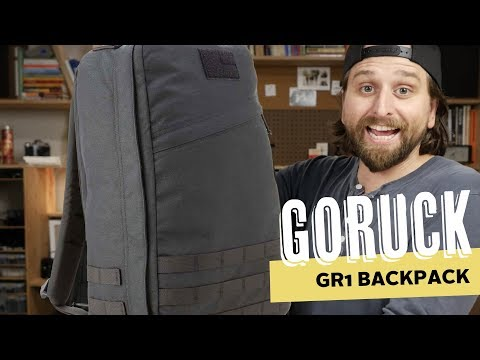 GoRuck GR1 Backpack Massive Review