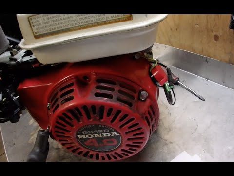 Honda GX120 Why was the Low Oil Killswitch Hotwired - YouTubeYouTube
