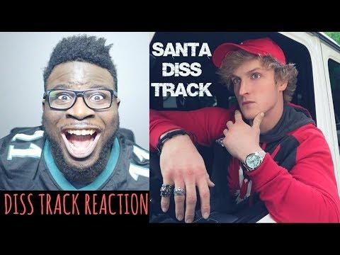 LOGAN PAUL - SANTA DISS TRACK REACTION (OFFICIAL MUSIC VIDEO)