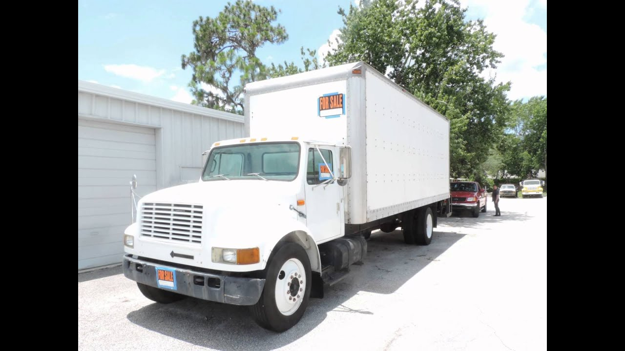 hight resolution of 1995 international box truck for sale