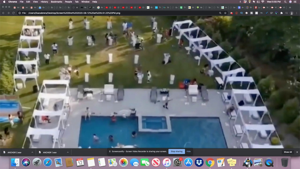 NJ Man Arrested After Throwing A Massive Pool Party With Over 400 Attendees