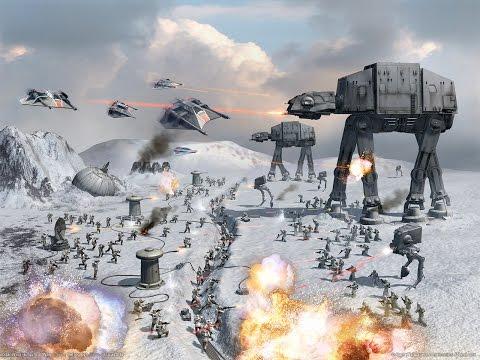 STAR WARS Battlefront Beta Битва за Хотт (Империя)