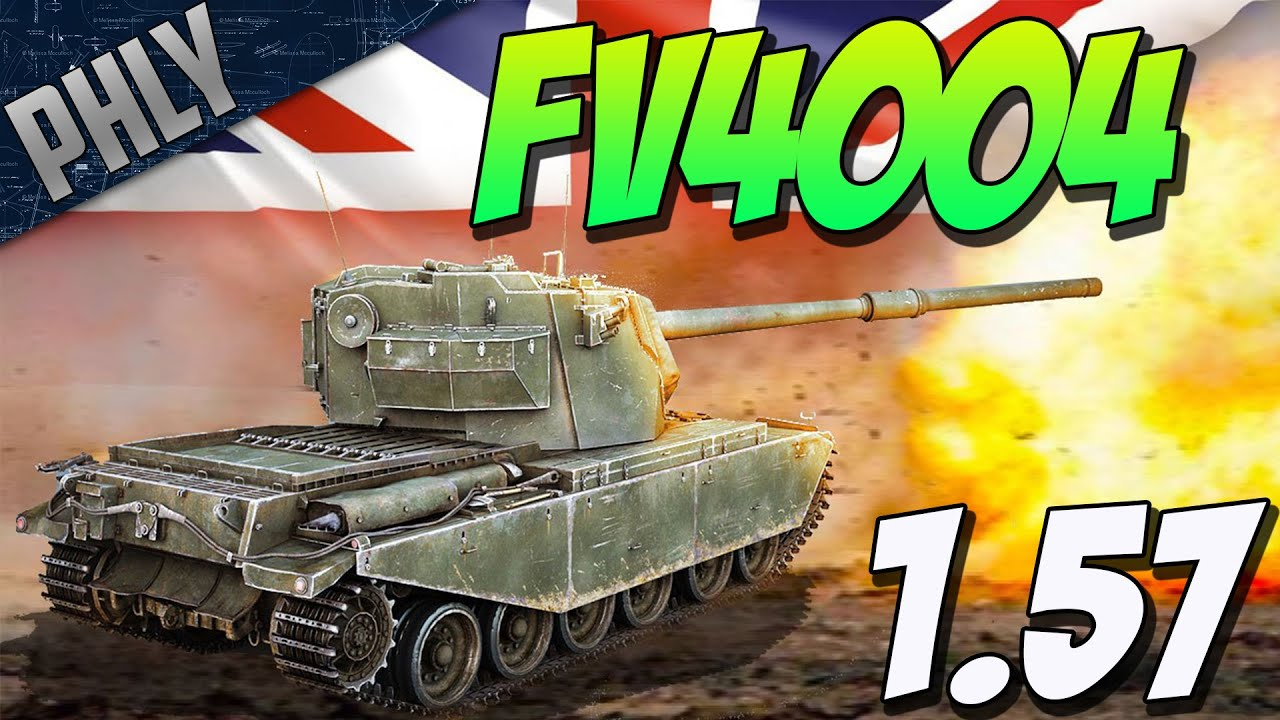 FV4004 CONWAY TANK THE IS 3 KILLER War Thunder 1 57 Devblog