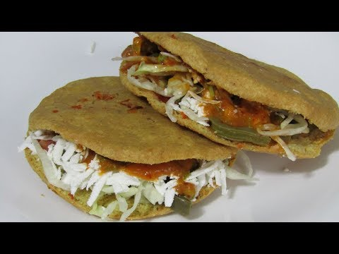 Gorditas de Chicharron | Receta Mexicana | Antojitos mexicanos