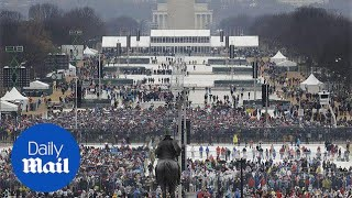 White House press secretary condemns reporting of Donald Trump's inauguration - Daily Mail