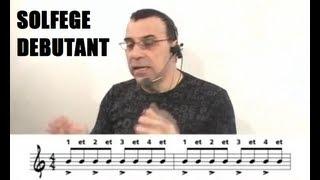 Solfège débutant, guitare piano - cours et leçon