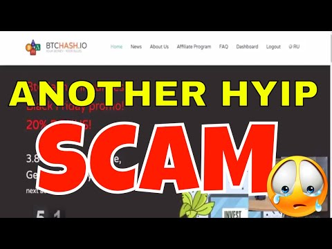 BTCHash is a Scam | I Got Scammed by Another HYIP Program so You Don't Have To