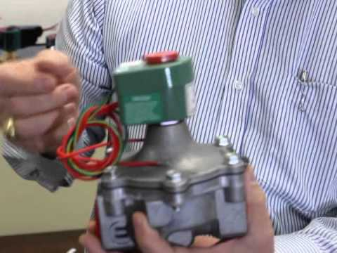 hqdefault installing an asco solenoid valve youtube asco red hat wiring diagram at fashall.co