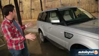 2012 Range Rover Sport Off-Road Test Drive & Luxury SUV Video Review