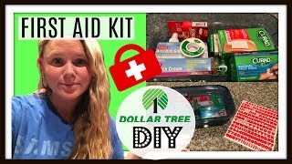Dollar Tree Diy First Aid Kit