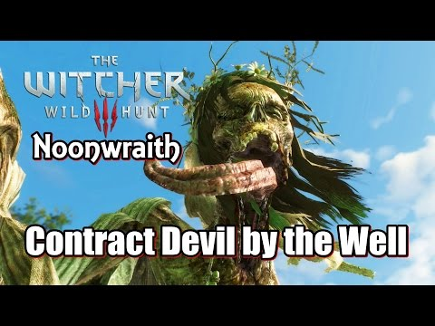 The Witcher 3 Wild Hunt Contract Devil by the Well ( Noonwraith )