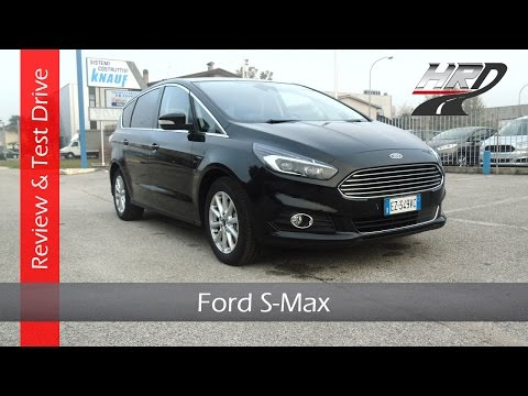 2015 Ford S-Max 2.0 TDCi (180 hp) - Test drive/Prova su strada & Review/Recensione