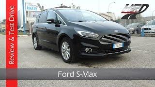 2015 Ford S-Max 2.0 TDCi (180 hp) - Test drive/Prova su strada & Review/Recensione(Prova infotainment: https://www.youtube.com/watch?v=zPe3wjlLPCE Ciao a tutti e benvenuti nel mio canale