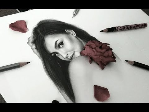 Drawing Roosmarijn De Kok (New Victoria's Secret Angel)   Plumb Cut   Vipz