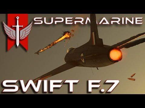 Is The Supermarine Swift F.7 Worth Your Time? - War Thunder 1.91 Gameplay
