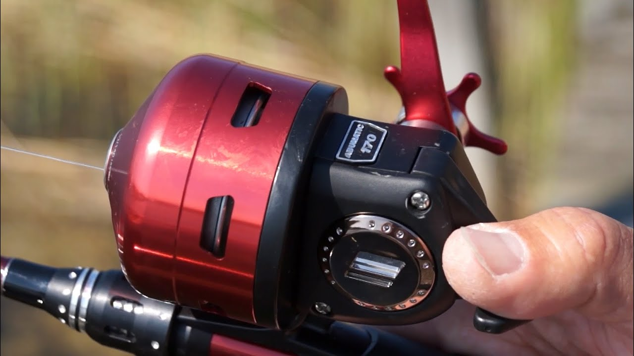 Abumatic 170 Spincast Reel