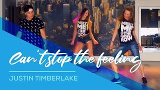Can't stop the feeling - Justin Timberlake - Easy Fitness Dance Choreography Zumba