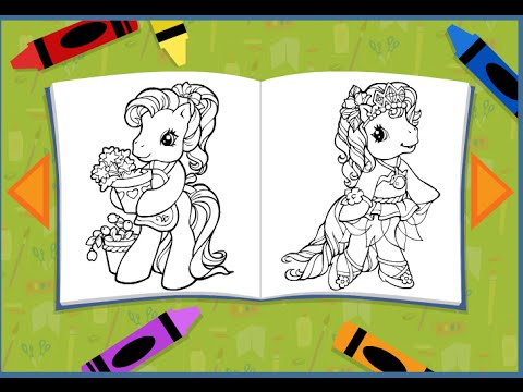 My Little Pony Coloring Pages For Kids - My Little Pony ...