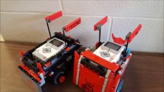 LaBrae Middle School RoboVikes Robotics Club NEOREP 2017 Penguin Bot Race