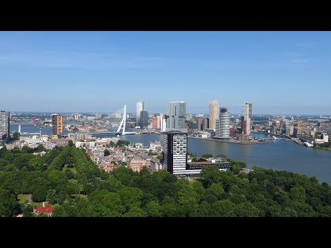 The Netherlands : Rotterdam city viewed from Euromast tower