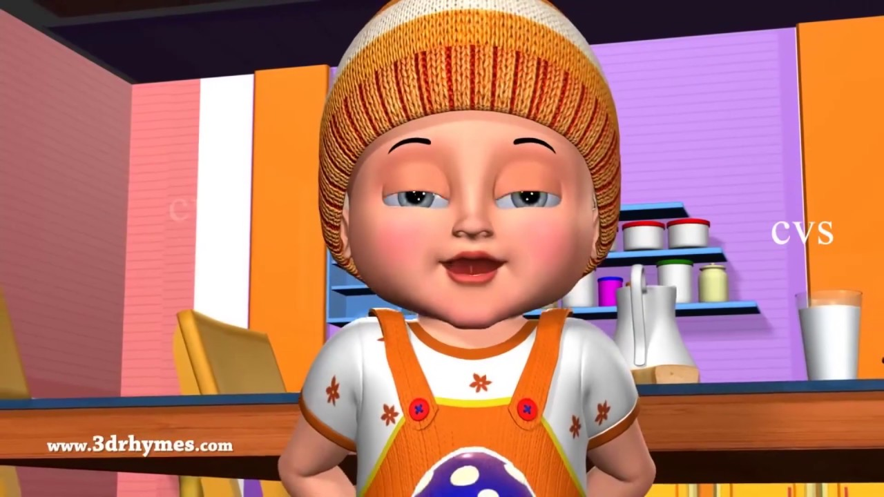 Johny Johny Yes Papa Nursery Rhyme 3D Animation Rhymes & Songs for Children
