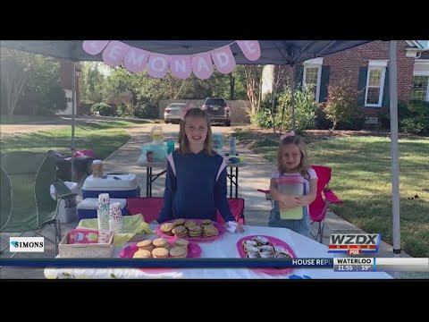 Heath West - Sisters Use Lemonade Stand To Buy Thanksgiving Dinners For Families In Need