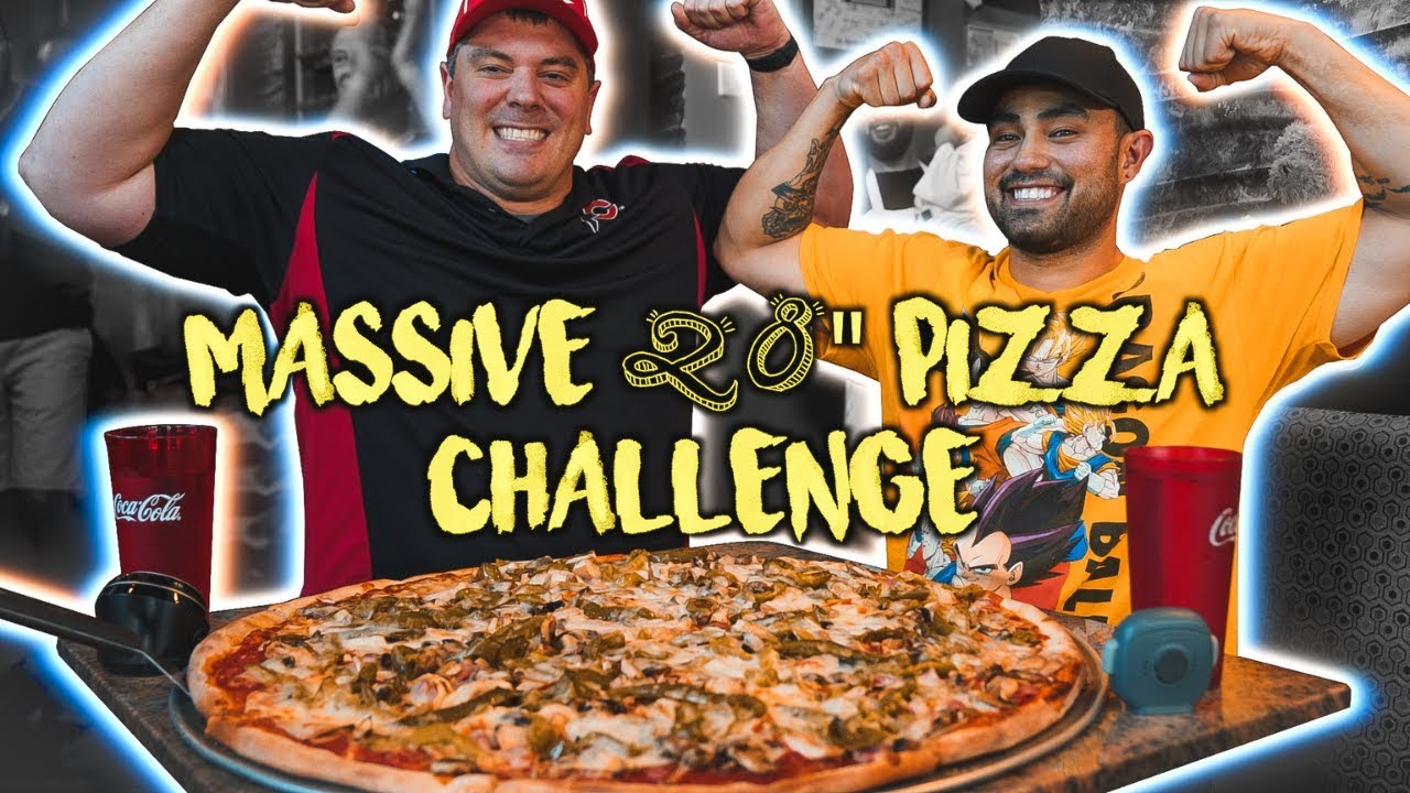 """Download Crushing a MONSTER 28"""" Pizza Challenge with Randy Santel"""