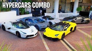 CHIRON / VEYRON / LAFERRARI / HUAYRA ... l'été des Hypecars ! Carspotting à Cannes !