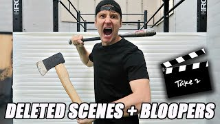 100 LAYERS OF HURRICANE TAPE BLOOPERS!! *DELETED SCENES*