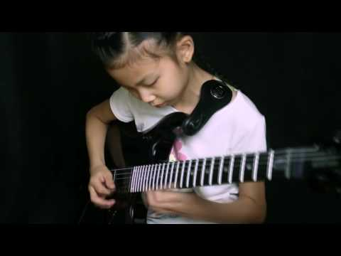 Far beyond the sun-Yngwie, Cover by 9 year old  girl YOYO(Pinxi Liu) from China