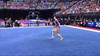 Jordyn Wieber - Floor - 2012 Visa Championships - Sr. Women - Day 2