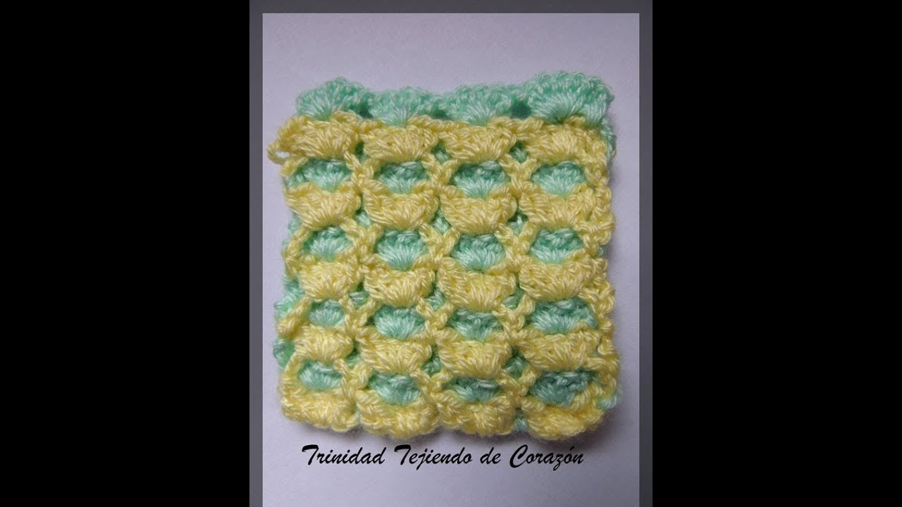 Punto reversible en Crochet - YouTube