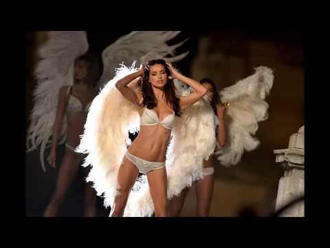 Adriana Lima Victoria's Secret Lingeri Photoshoot Candids in Paris