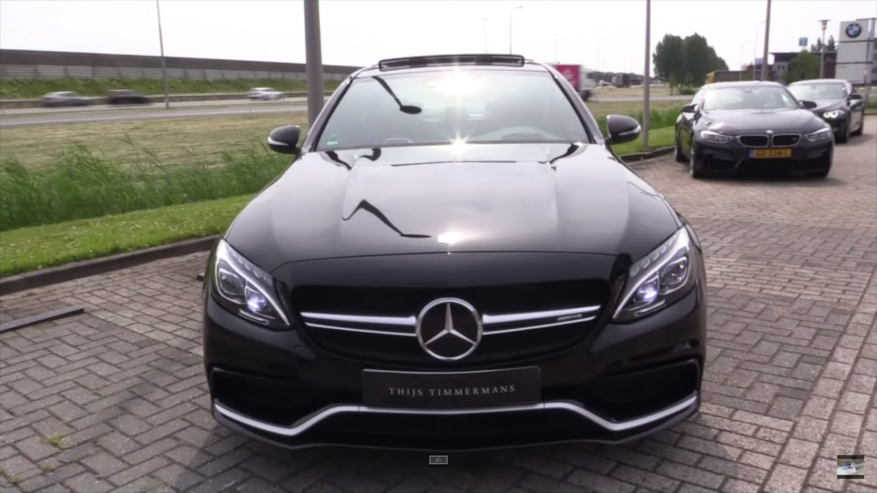 mercedes c63 amg s 2016 pure sound youtube. Black Bedroom Furniture Sets. Home Design Ideas