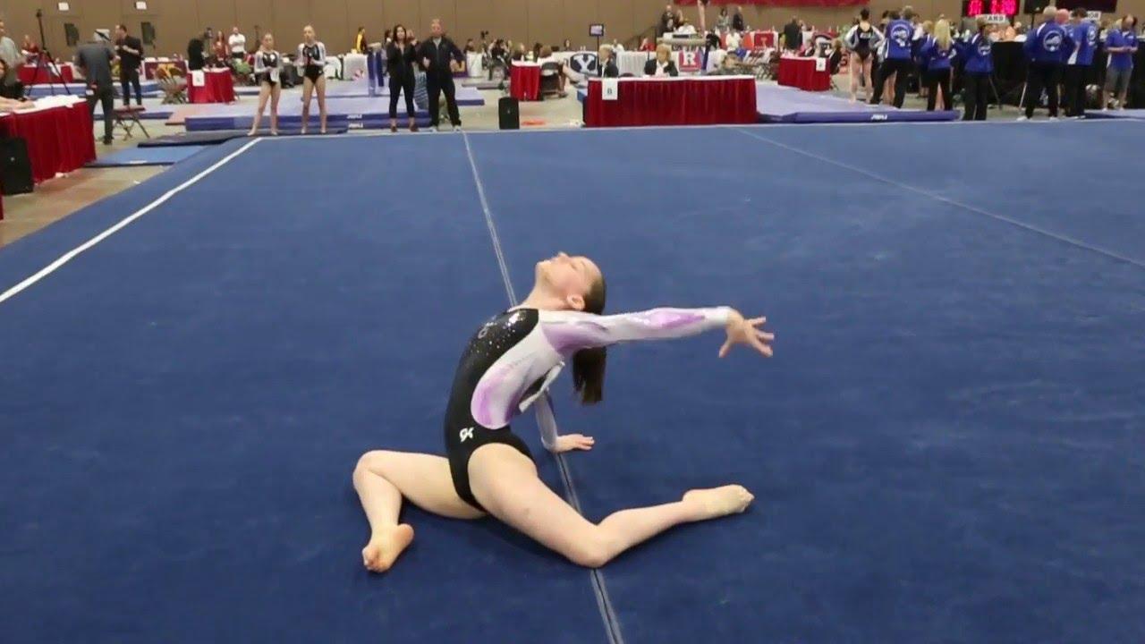 brooke butler gymnastics meet
