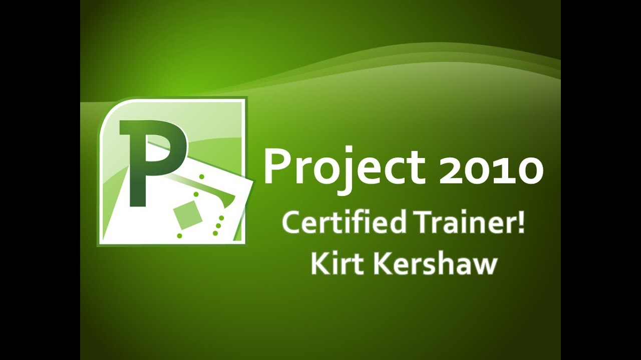 Microsoft Project 2010 Visual Report Template Youtube