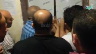 شاهد.. مصعد بكلية فنون تطبيقية يهدد حياة 6 طالبات في جامعة بنها