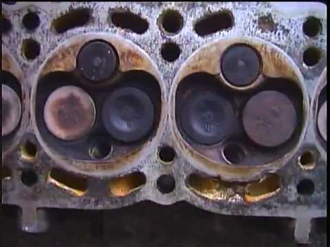toyota 2E cylinder head corrodes at 494,771 km 17 years