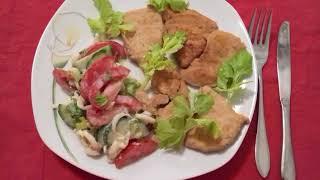 1 ДЕНЬ. 3 неделя. Диета Кима Протасова.  Куриная грудка подпеченая на сухой сковороде!