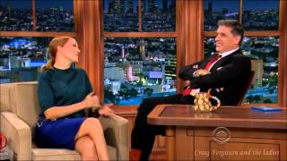 Léa Seydoux - Craig Ferguson and the ladies 21st Feb 2014