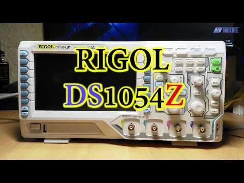 Rigol DS1054Z. Впечатления + экспресс-обзор