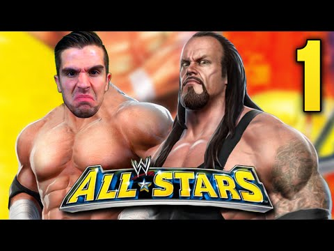 "WWE ALL STARS - Path of Champions Legends - Ep. 1 - ""TIME TO PLAY THE GAME!!"""