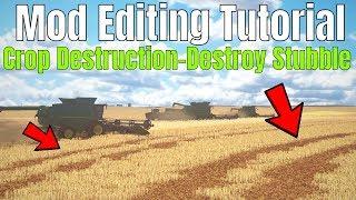 HOW TO - Destroy Stubble with Crop Destruction Mod