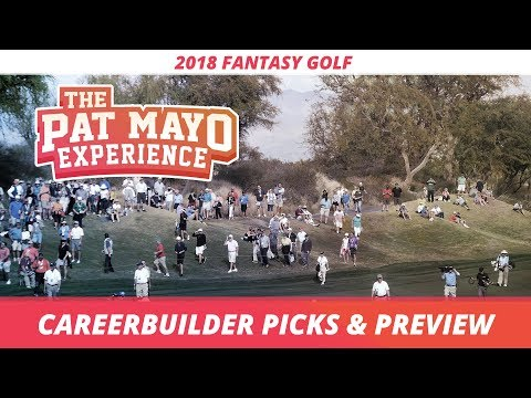Fantasy Golf Picks: 2018 CareerBuilder Challenge Picks, Sleepers and Preview