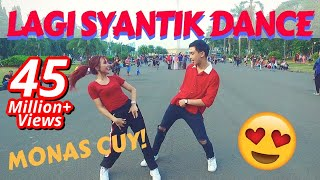 LAGI SYANTIK DANCE IN PUBLIC by Natya & Rendy  | Choreo by Natya Shina