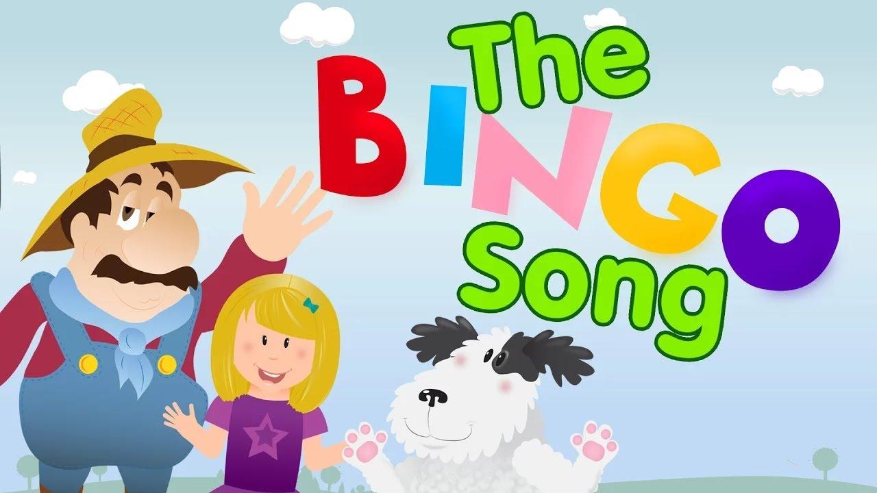 the bingo song with lyrics nursery rhymes songs for kids youtube