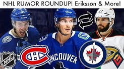 NHL Rumor Roundup! Eriksson For Kesler, Point, Jets & Habs