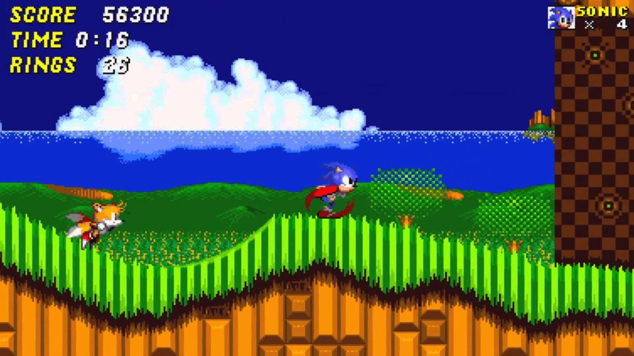 Sonic the Hedgehog 2 Remastered (TaxStealth) - PC Footage